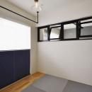 T邸_シックな空間が家族の時間を包むの写真 和室