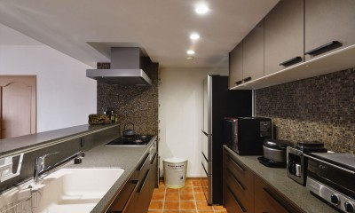 M邸_二人のためのまったりヴィラ (キッチン)