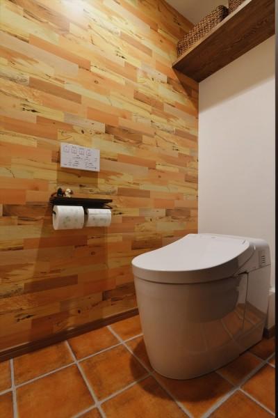 トイレ (M邸_二人のためのまったりヴィラ)