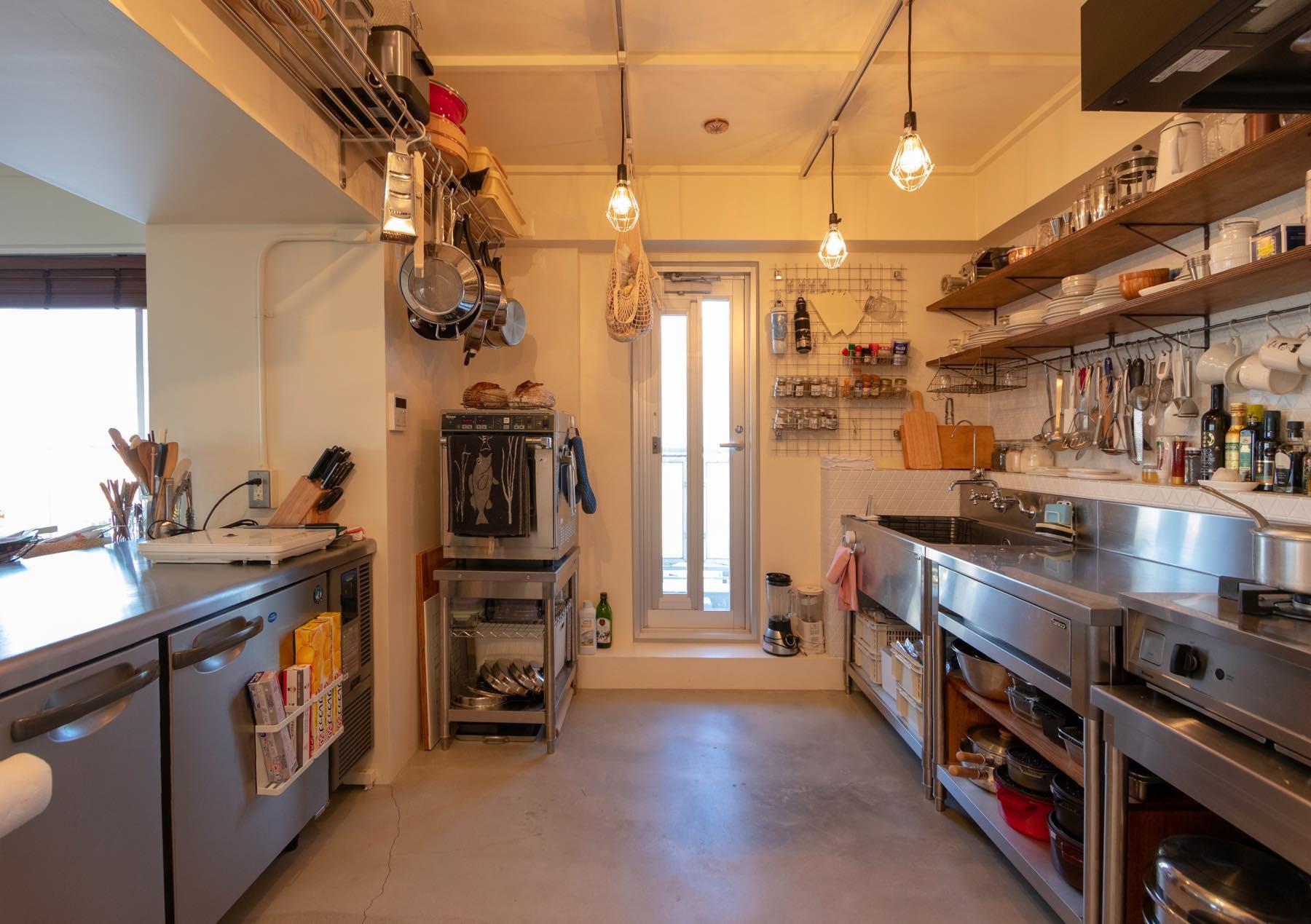 キッチン事例:キッチン(家なかレストラン)