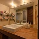 家なかレストランの写真 洗面室