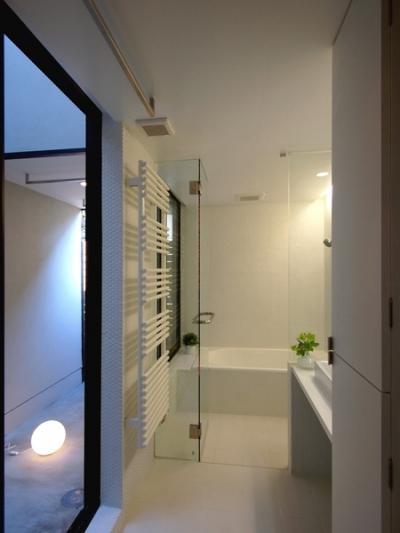 浴室 (祖師谷の家)