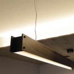 柔らかな灯りの間接照明