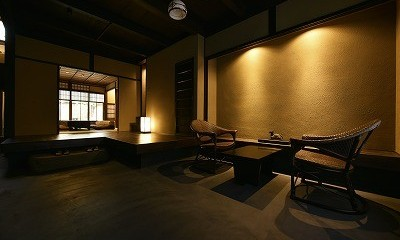 「藏や」聚楽第 (町家旅館) (エントランス)