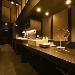 「藏や」聚楽第 (町家旅館) (洗面・キッチン)