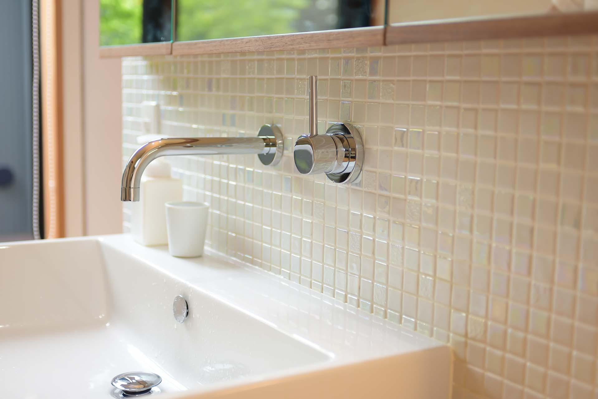 バス/トイレ事例:洗面(埼玉県北鴻巣の家)