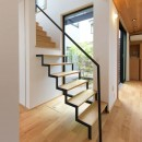 埼玉県北鴻巣の家の写真 階段