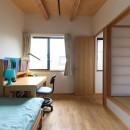 埼玉県北鴻巣の家の写真 畳スペースと子供部屋