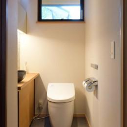 埼玉県北鴻巣の家 (収納のあるトイレ)
