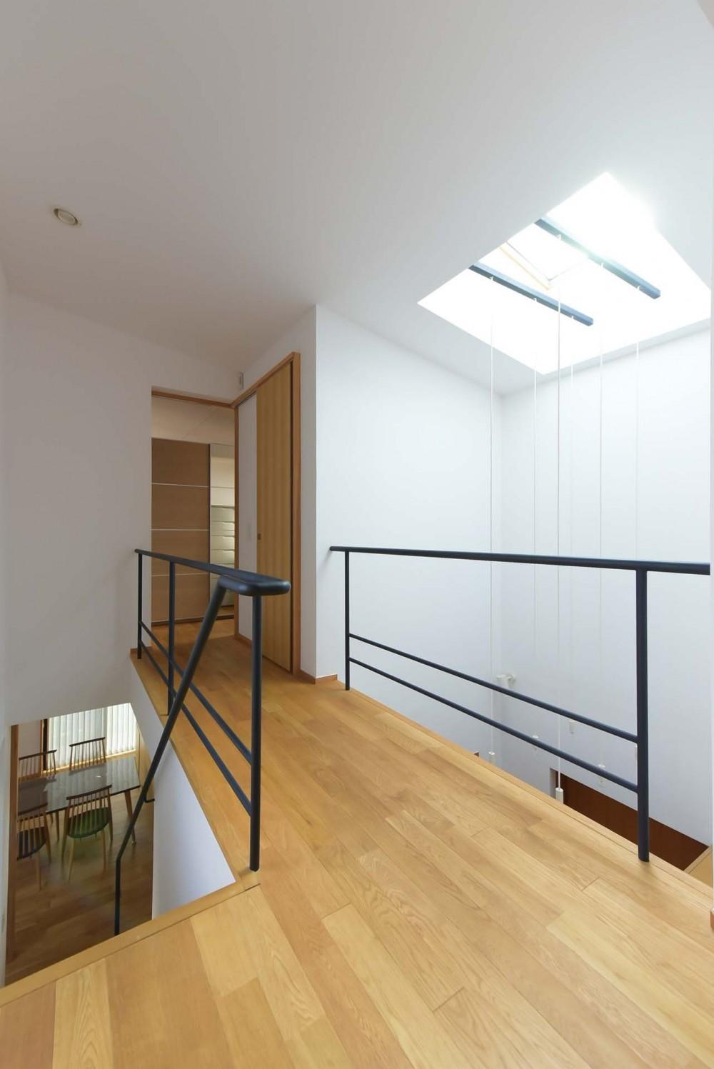 埼玉県北鴻巣の家 (主寝室につながる2階の廊下)