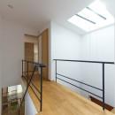 埼玉県北鴻巣の家の写真 主寝室につながる2階の廊下
