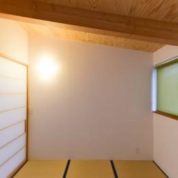 埼玉県北鴻巣の家 (和室)