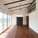 ファーバルデザイン一級建築士事務所の住宅事例「リビングとロフトを一体にした家」