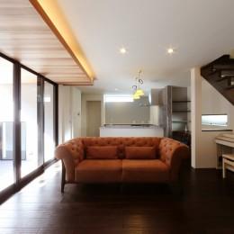 こだわりの家具や雑貨の世界観を楽しめる家