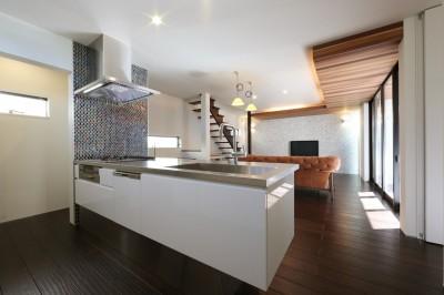 キッチン (こだわりの家具や雑貨の世界観を楽しめる家)