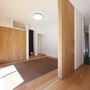 こだわりの家具や雑貨の世界観を楽しめる家の写真 和室
