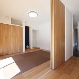 こだわりの家具や雑貨の世界観を楽しめる家 (和室)