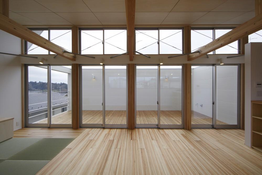 鎌取の家 (リビング)