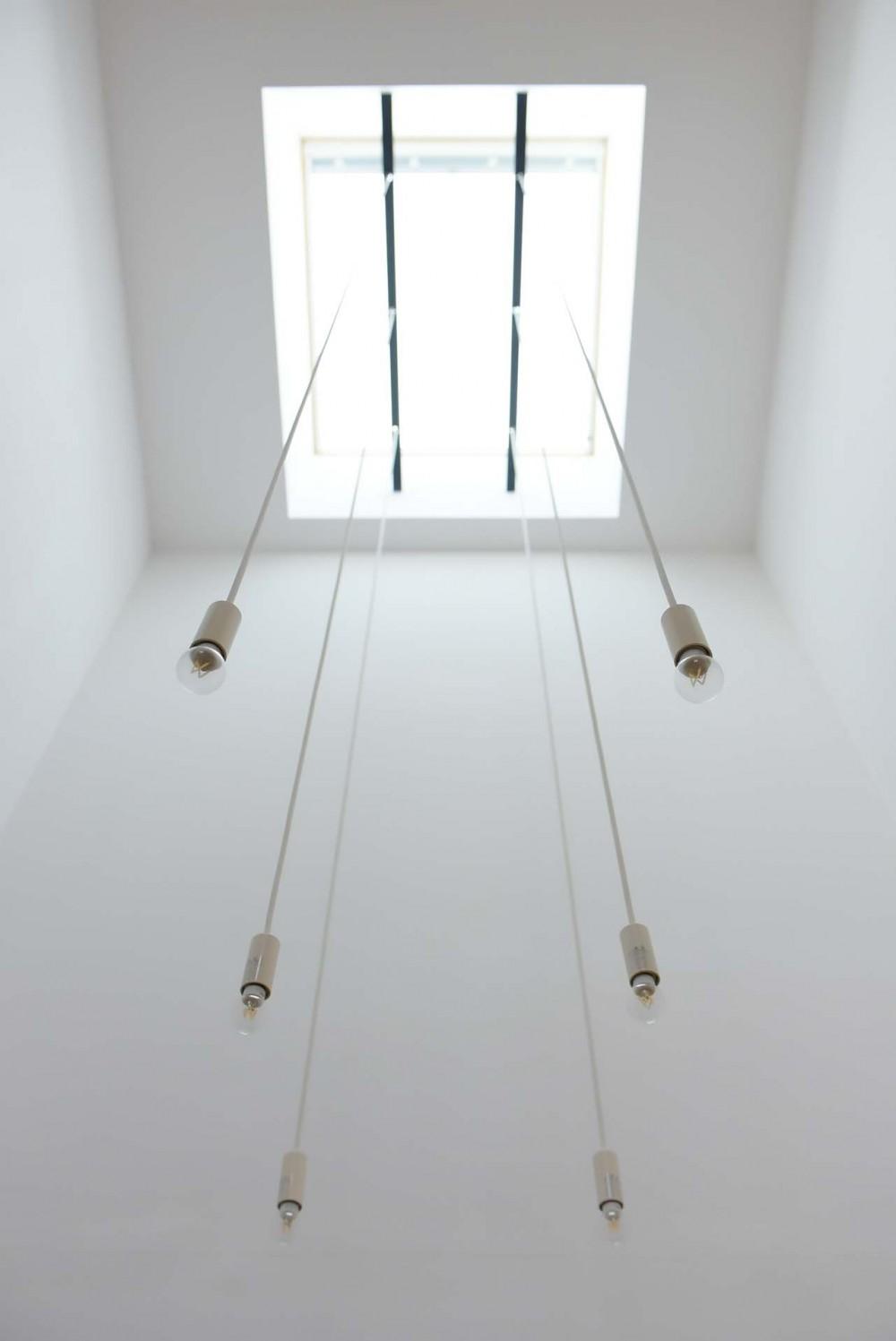 埼玉県北鴻巣の家 (天窓のある玄関)