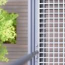 埼玉県北鴻巣の家の写真 2階バルコニーの床