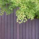 埼玉県北鴻巣の家の写真 中庭のデッキ