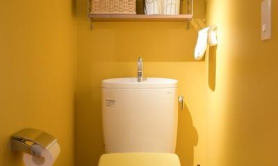 習志野市Fさんの家 (カラフルなトイレ)