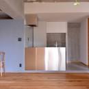 調布市のWさんの家の写真 サンワカンパニーのコンパクトキッチン