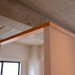 調布市のWさんの家 (天井はコンクリート)
