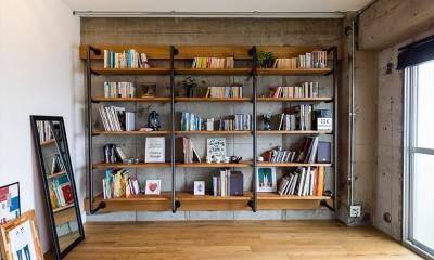 DIYで進化を遂げる、大人インダストリアル (本棚)