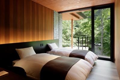 寝室 (21山荘)