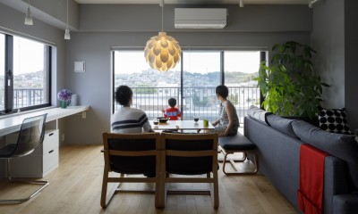MARGIN-忙しい共働き夫婦が、あえて選んだ眺めのいい郊外の家