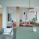 mellow lounge-家具を含めてトータルでコーディネート。エリアを絞った一戸建てリノベーションの写真 リビングダイニング
