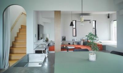mellow lounge-家具を含めてトータルでコーディネート。エリアを絞った一戸建てリノベーション