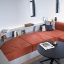 mellow lounge-家具を含めてトータルでコーディネート。エリアを絞った一戸建てリノベーションの写真 リビング