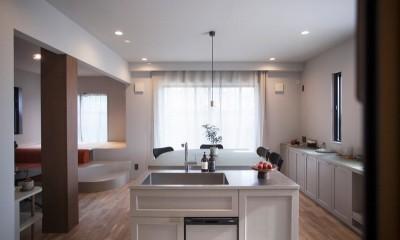 mellow lounge-家具を含めてトータルでコーディネート。エリアを絞った一戸建てリノベーション (ダイニングキッチン)