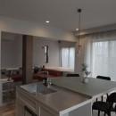 mellow lounge-家具を含めてトータルでコーディネート。エリアを絞った一戸建てリノベーションの写真 ダイニング