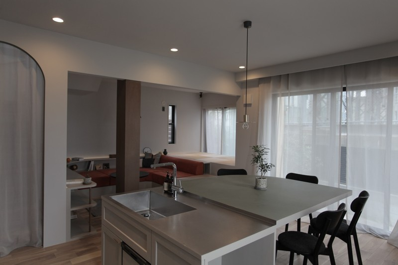 mellow lounge-家具を含めてトータルでコーディネート。エリアを絞った一戸建てリノベーション (ダイニング)