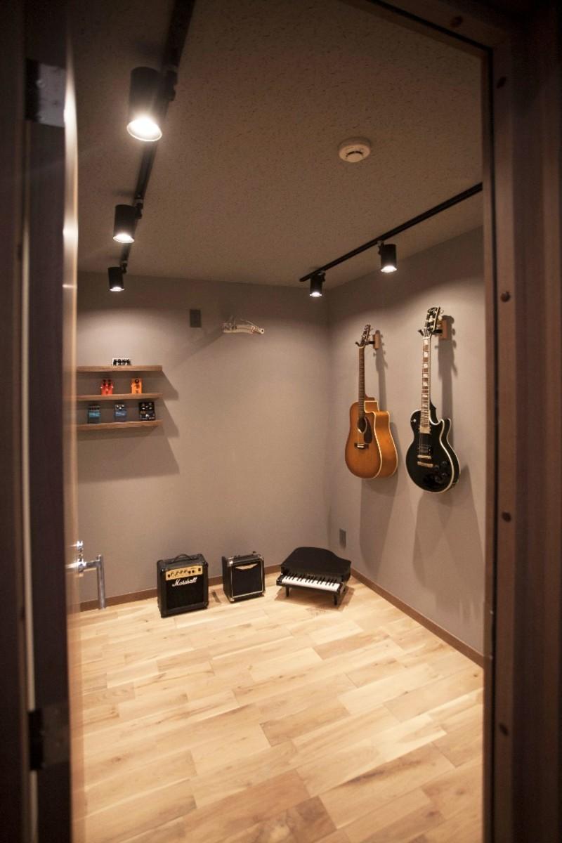 mellow lounge-家具を含めてトータルでコーディネート。エリアを絞った一戸建てリノベーション (防音室)