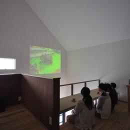 学園町ベース (2階シアタースペース)