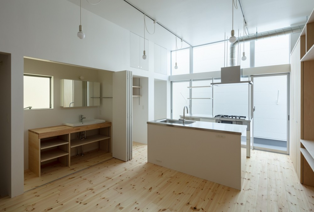 長居東の住宅 / House in Nagai-higashi (2階キッチン)