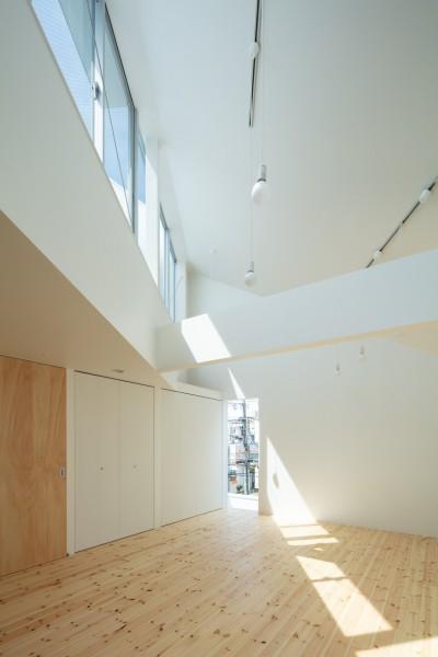 3階 子供室 (長居東の住宅 / House in Nagai-higashi)