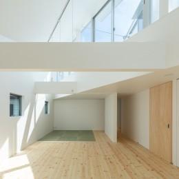 長居東の住宅 / House in Nagai-higashi (3階 子供室 主寝室)