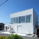 結崎の住宅 / House in Yuzakiの写真 外観(北側より見る)