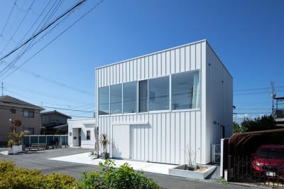 外観(北側より見る) (結崎の住宅 / House in Yuzaki)