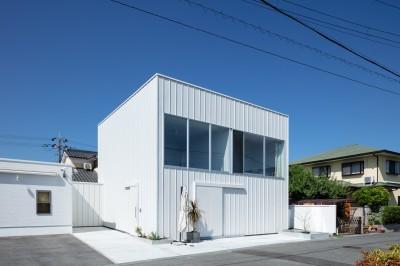 外観(東側より見る) (結崎の住宅 / House in Yuzaki)