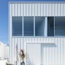 結崎の住宅 / House in Yuzakiの写真 外観(北東側より見る)
