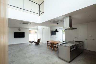1階 LDK (結崎の住宅 / House in Yuzaki)