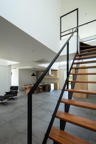 階段 (結崎の住宅 / House in Yuzaki)