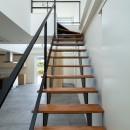 結崎の住宅 / House in Yuzakiの写真 階段
