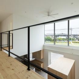 結崎の住宅 / House in Yuzaki (2階 吹抜)